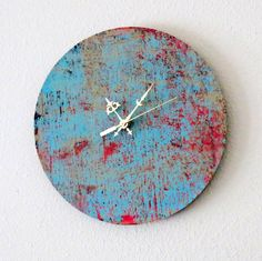 Large Wall Clock Decor and Housewares Home and by Shannybeebo pic only