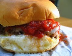 More in the Freezer: Pizza Burgers | Big Red Kitchen - a regular gathering of distinguished guests