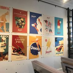"""L'Affichiste   Vintage Posters on Instagram: """"SURPRISE SALE! While supplies last, we are bringing back our buy 3 get one free Mads Berg poster sale ... use the coupon code 3FOR2MADSBERG…"""""""