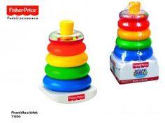 Fisher Price - Piramidka z kółek