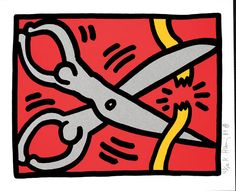 KEITH HARING  Untitled, 1989
