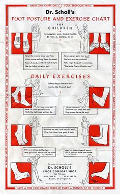 For children.   Originated and copyrighted by Wm. M. Scholl, M.D.