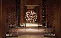 Toronto-based design firm Yabu Pushelberg's design for the Four Seasons Hotel Toronto was inspired by a dandelion. Photograph courtesy of Four Seasons Hotel Toronto. #interiordesign #interiordesignmagazine #design #Toronto #hotels