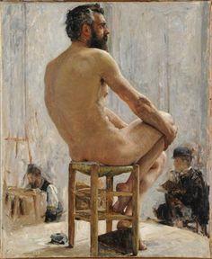Figure Study 19th C. -  Edgar Maxence (1871-1954) /  Paris, école nationale supérieure des Beaux-arts