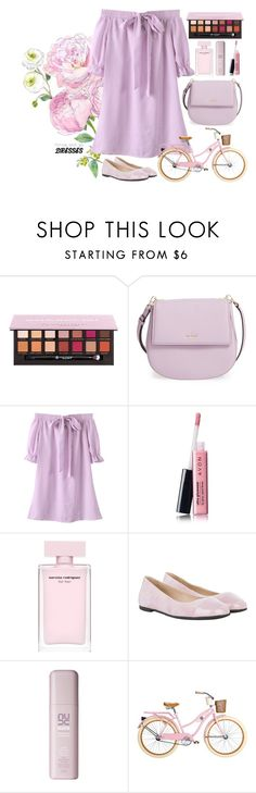 """""""#easypeasy """"Easy Peasy: Throw-and-Go Dresses"""""""" by tiwidy on Polyvore featuring Anastasia Beverly Hills, Kate Spade, Avon, HUGO, contest, easypeasy, polyvorecontest and polyvorefashion"""