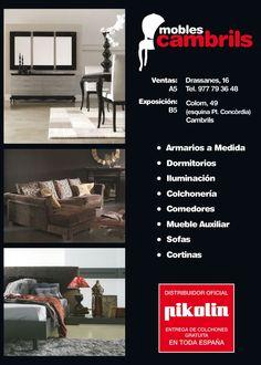 Tu tienda de muebles, colchones y decoración en Cambrils, Tarragona.