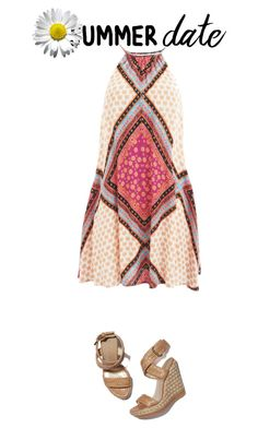 """Untitled #88"" by danielaelena1 on Polyvore featuring MINKPINK, Stuart Weitzman and Charlotte Russe"