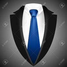 25638339-triangle-jacket-and-tie-Stock-Photo.jpg (1300×1300)
