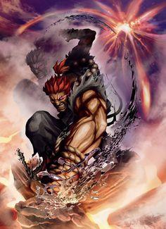 Akuma, Fav street fighter character