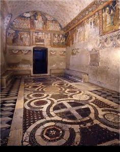 Chapel of Saint Sylvester in the Quattro Coronati Church in Rome