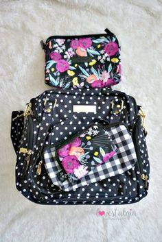 Ju-Ju-Be Black and Bloom   Gingham Style Print Comparisons