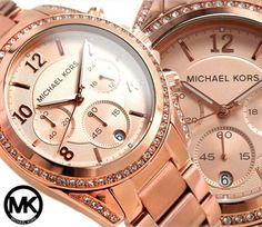 """Michael Kors Watch Rose Gold -Opened this Christmas morning. Carter said, """"I picked it out and daddy paid.  I did the important part!"""" :)"""