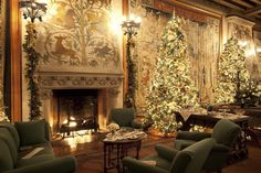 Inside the Biltmore Estate | Tapestry Room in Biltmore Estate, Asheville, NC | Skimbaco Lifestyle ...