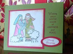 Baby Jesus Christmas Shimmer