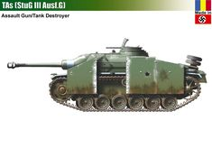TAs / StuG III Ausf.G General Motors, Lend Lease, Tank Destroyer, Model Tanks, Ww2 Tanks, Tank Design, World Of Tanks, Armored Vehicles, Skin So Soft
