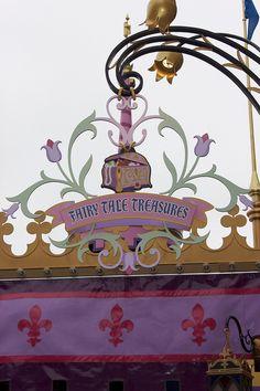 Fantasy Faire at Disneyland by insidethemagic, via Flickr