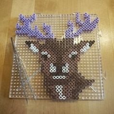 Deer perler beads by sarapysslar