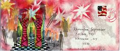 The Remember September Mail Art Memorial is an annual call for mail art to honor the victims and heroes of the 9/11/01 attacks on the United States.