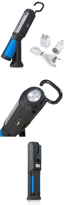 US/EU/UK Plug USB Rechargeable 36+ 5 LED Flashlight,Outdoor Work Stand Light Magnet+HOOK+Mobile Power For Phone Lanterna Lamp