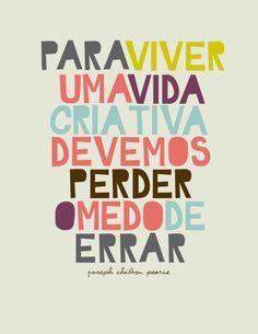 #PercaOMedo ##typography