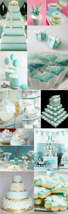 Tiffany's inspired wedding...