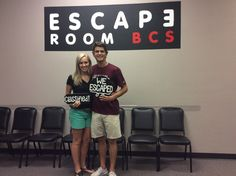 These two escaped Classified in 45 minutes!