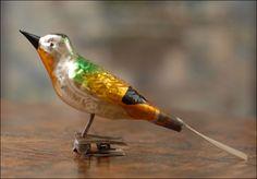 Vintage Birds.     #indigo #magicalholiday
