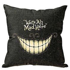 pillowcase halloween skull cushion cover cotton linen size 40 40 printed throw pillows decorative cojines housse de coussin