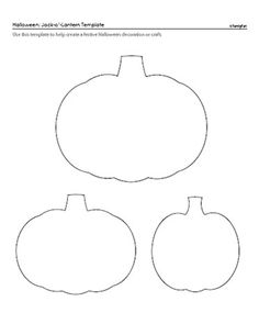Pumpkin Pattern Use The Printable Outline For Crafts