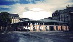 Identité visuelle de la halle martenot à Rennes