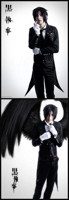 Tim van Young as Sebastian Michaelis from Kuroshitsuji (Black Butler) by Cmossphotography