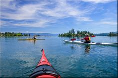 There are at least 3,223 named lakes and reservoirs in Montana, including Flathead Lake, the largest natural freshwater lake in the western United States.