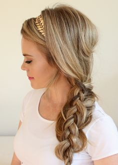 Hairspiration for Your Halloween Mermaid Costume via Brit + Co.