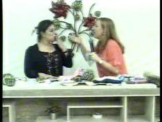 sapatinho de trico para adulto com cisne premium com Cristina Amaduro - YouTube