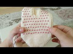 You are going to find interesting and appealing women hairstyle models that. Crochet Stitches Patterns, Baby Knitting Patterns, Stitch Patterns, Knitted Slippers, Crochet Slippers, Baby Pants, Tunisian Crochet, Crochet Clothes, Crochet Baby