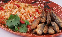 Receitas práticas de culinária: JAQUINZINHOS COM ARROZ DE TOMATE