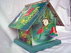Little Golden Book birdhouse