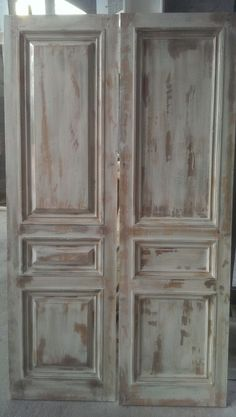 Distressed and aged doors