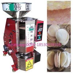 2017 Korean rice cake machine rice pop making machine adjustable rice-cake size crisp rice cake