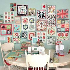Thimble Blossoms with Camille Roskelley wall quilts