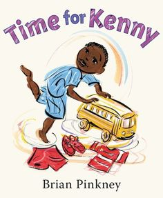 Two-time Caldecott Honor artist and Coretta Scott King Medalist Brian Pinkney's Time for Kenny is simple, direct, and pitch-perfect for emerging readers. This vibrant, family-oriented picture book is full of boundless energy, action, and unlimited love. A timeless choice for fans of Laura Vaccaro Seeger, Christian Robinson, and Oge Mora.