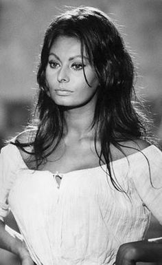 "Sophia Loren. I believe this is Dulcinea from ""Man of La Mancha"""