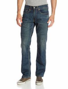 4d5f7b86 Levi's NEW Blue Mens Size 32X34 Relaxed Straight Leg Stretch Jeans $59- 370  #fashion