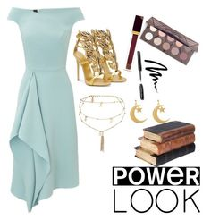 """""""power look"""" by itsbree013 ❤ liked on Polyvore featuring Roland Mouret, Tom Ford, Bobbi Brown Cosmetics, Ettika and Giuseppe Zanotti"""