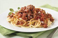 Espagueti a la boloñesa Receta