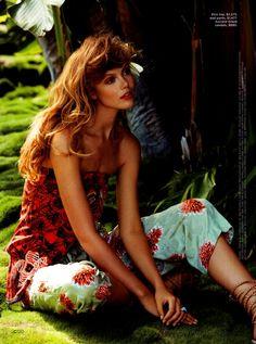 California Style Magazine Summer 2014 | Frida Gustavsson by Hilary Walsh