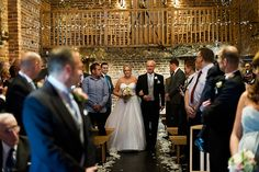 Kate and Steve's real life #wedding at Curradine Barns - The ceremony | CHWV