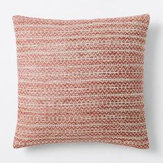 Silk Stacked Diamonds Pillow Cover - Wild Rose #westelm Look at all colors in collection- all cool :)