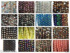 Halbedle Schmucksteine Runden perlen für Schmuckherstellung - 8mm (47-50 Perlen)