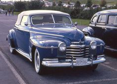 1941 Oldsmobile Series 98 Custom Cruiser Convertible